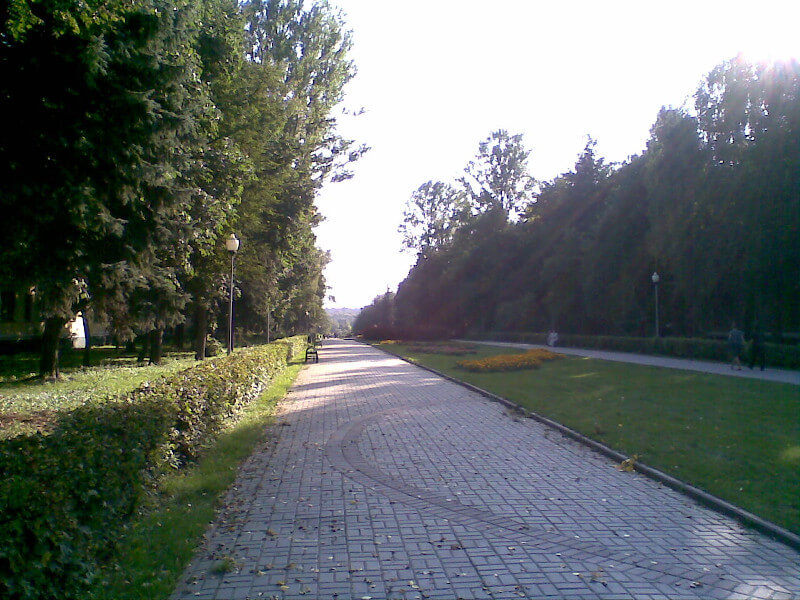 парк в Воскресенске